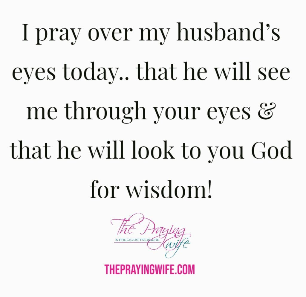 The Praying Wife Quote - Eyes